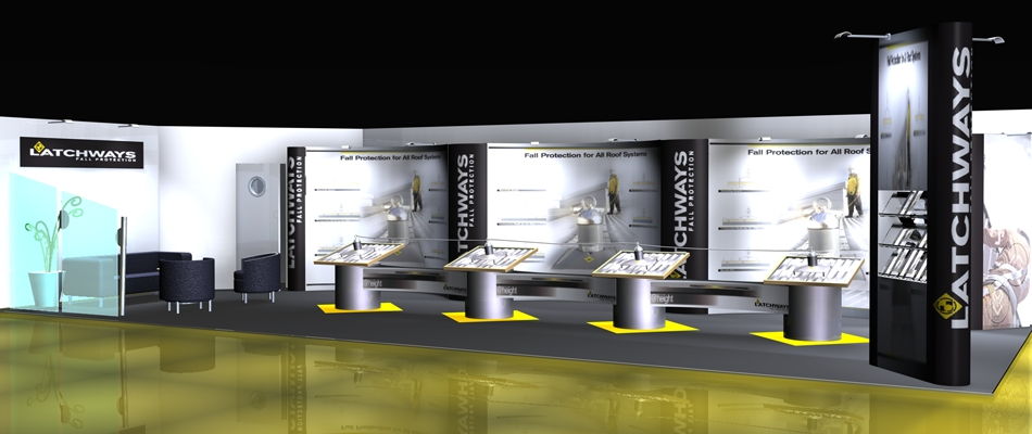 Exhibition Stand Design Specifications : Traditional design techniques married to state of the art